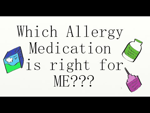 Which Allergy Medication Is Right For Me