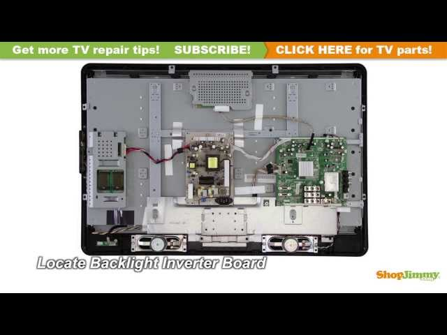 Philips TV Picture Repair - How to Replace a Backlight Inverter