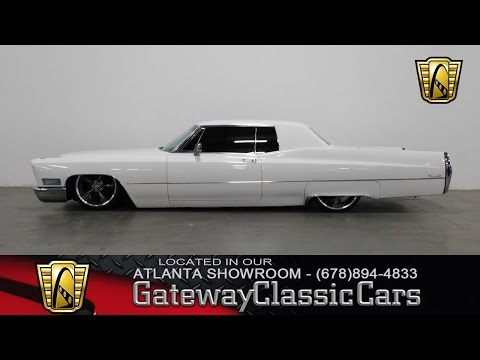 1968 Cadillac Deville - Gateway Classic Cars of Atlanta #319