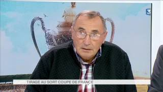 Football : tirage au sort Coupe de France