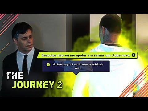 E SE ALEX HUNTER NÃO DEMITIR MICHAEL!? - FIFA 18 | THE JOURNEY