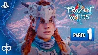 HORIZON ZERO DAWN The Frozen Wilds - Parte 1 Gameplay Español (PS4 PRO)   Infierno Helado