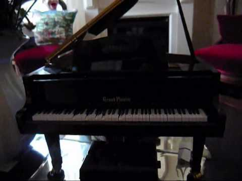 saddest, most pathetic song ever written HEARTS AND FLOWERS on world's smallest player piano