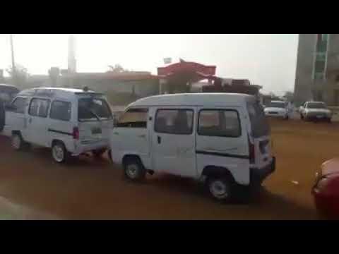 Fuel crisis in Khartoum