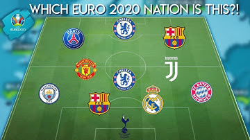 WHICH NATION FROM EURO 2020 IS THIS?! |Impossible Football Quiz 2020