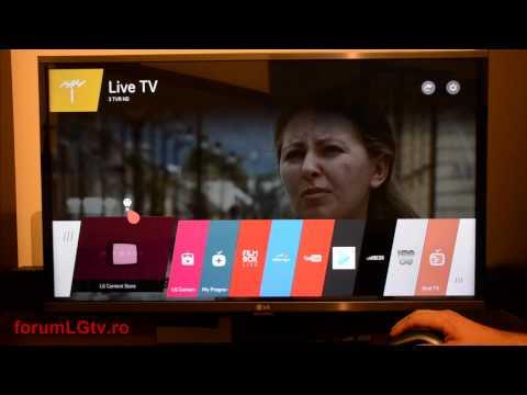 Review LG TV 32LF630V - webOS 2.0