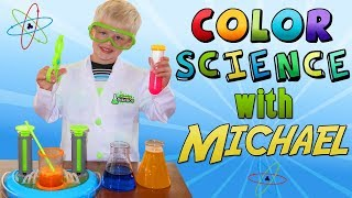 Scientist Michael's Rainbow Fizzy Lab