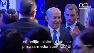 Seful politiei israeliene recomanda punerea sub acuzatie a premierului Netanyahu