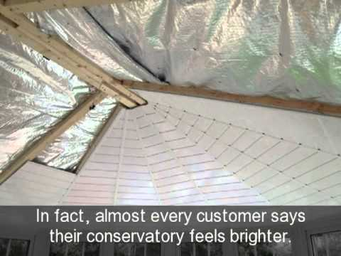 Insulated conservatory roof mr b milton keynes youtube insulated conservatory roof mr b milton keynes solutioingenieria Image collections