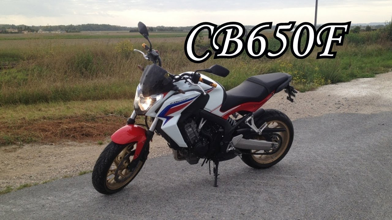 test de la cb650f hrc superbe moto pour le permis a2 youtube. Black Bedroom Furniture Sets. Home Design Ideas