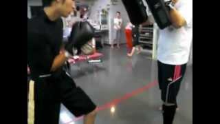 2012年9月24日(月)兵庫県尼崎市 キックボクシング 尼宝線沿いBMC 沖野玉枝 検索動画 14