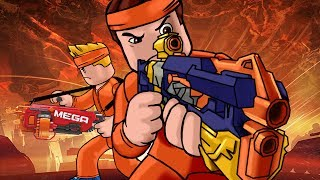 Roblox ? BLUE VS ORANGE NERF WAR - Nerf FPS Roblox! (Juego de armas de Robox)