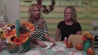 Bee Crafty Centerpieces, Table Runners And Diy Napkin Holders
