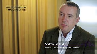 Interview with Andrew Kefford - 2nd International Conference of Asbestos Awareness and Management