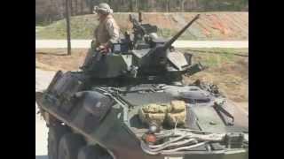 Marines Battlesight Zero (BZO) LAV-25 Weapons