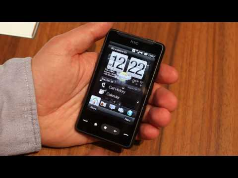 HTC HD Mini user interface video
