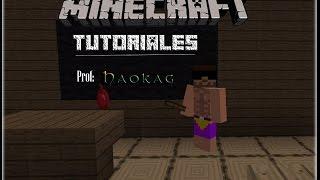 El teclado en Minecraft - Tutorial basico y avanzado