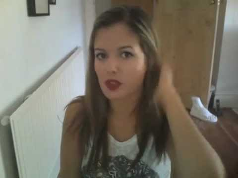 Dyeing My Hair With Garnier Olia Youtube