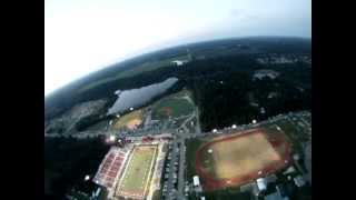 Exhibition Skydive into Petal, MS High School Football Game