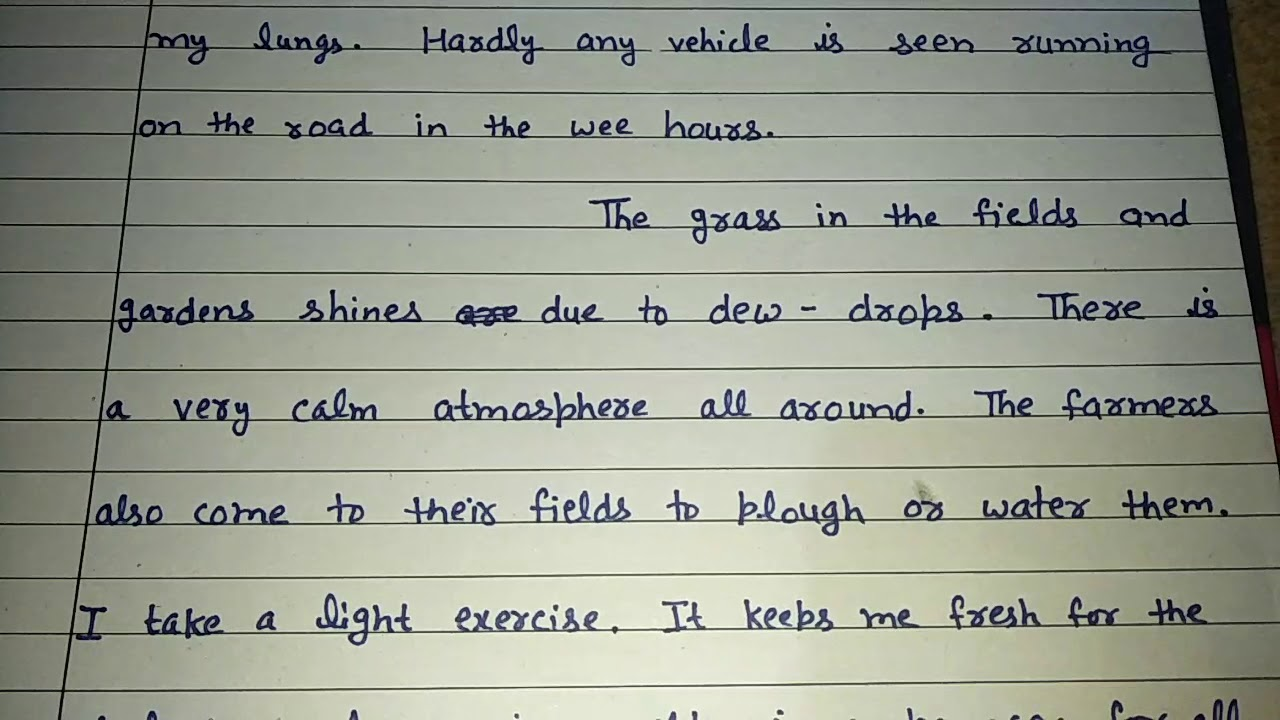 Essay about mother tongue