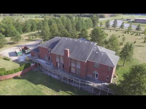 Abandoned Raymore MO Mansion DRONE COVERAGE!