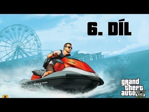 Český Let´s play | GTA V | #6 | Správná výchova! | Xbox 360