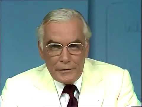 Sir Eric Pearce's final broadcast on GTV9 National Nine News