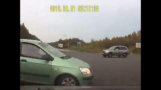В Сыктывдинском районе столкнулись две иномарки