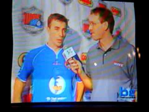 Video #1-Interview with Jacek Przednowek after the soccer  game in Milwaukee on December 13, 2008