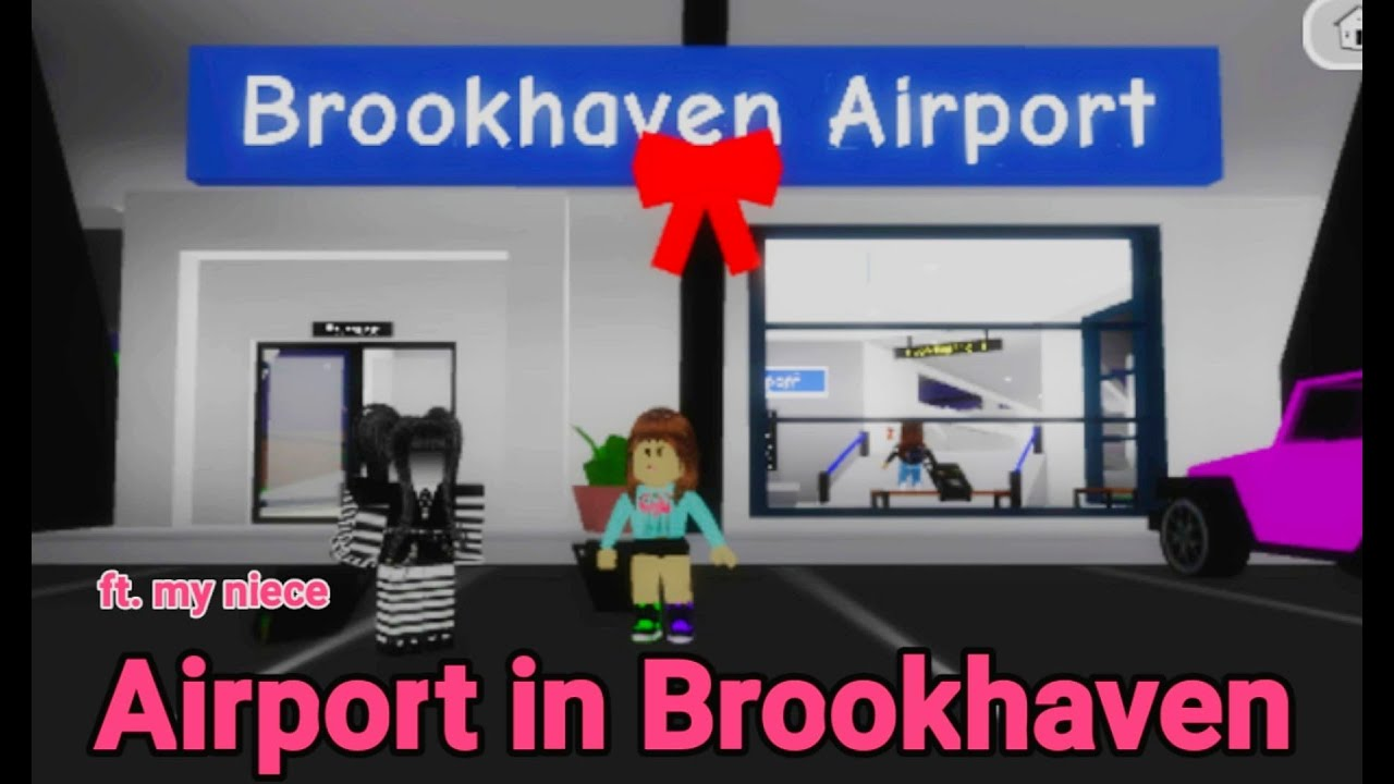 Download Airport in Brookhaven RP   Roblox