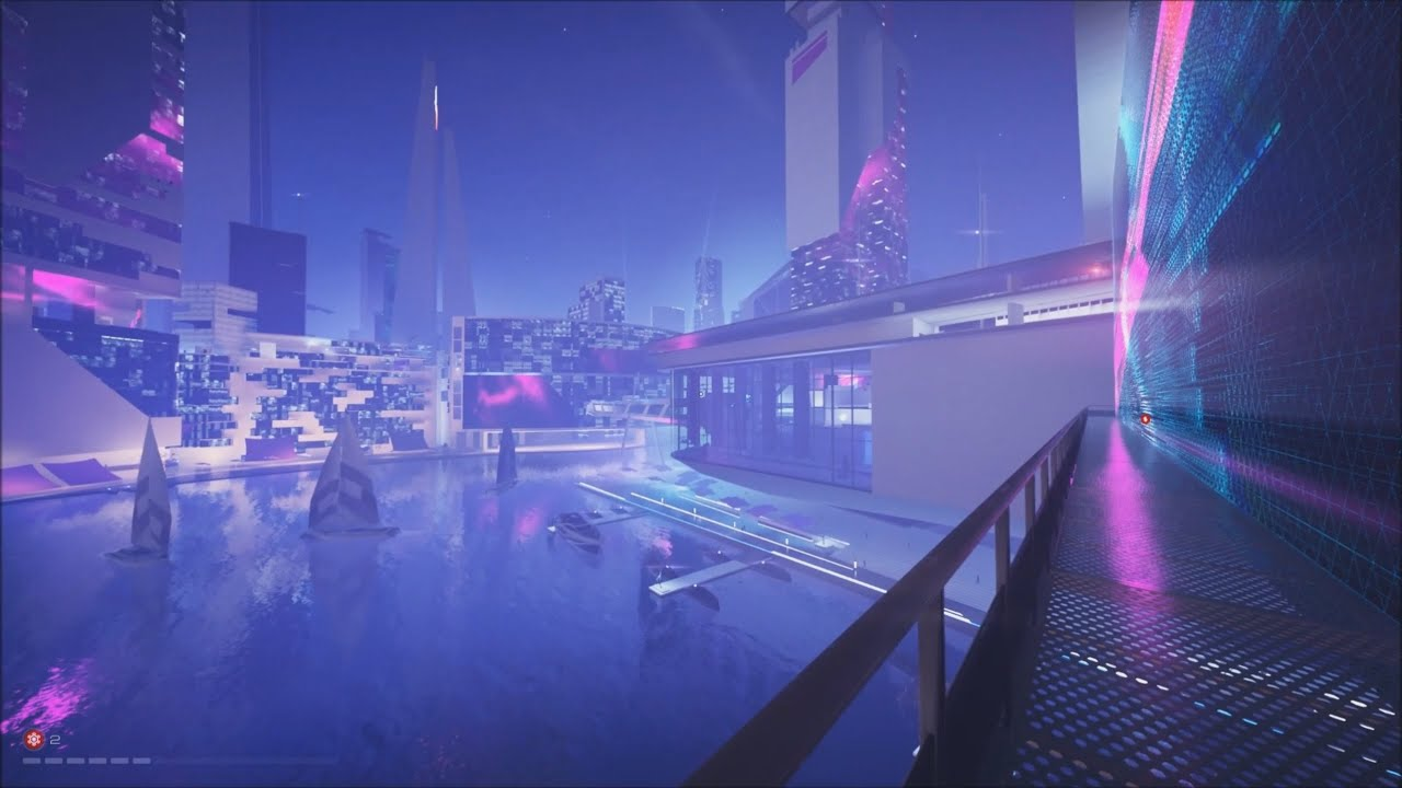 Mirror S Edge Catalyst It S A Long Run To Regatta Bay