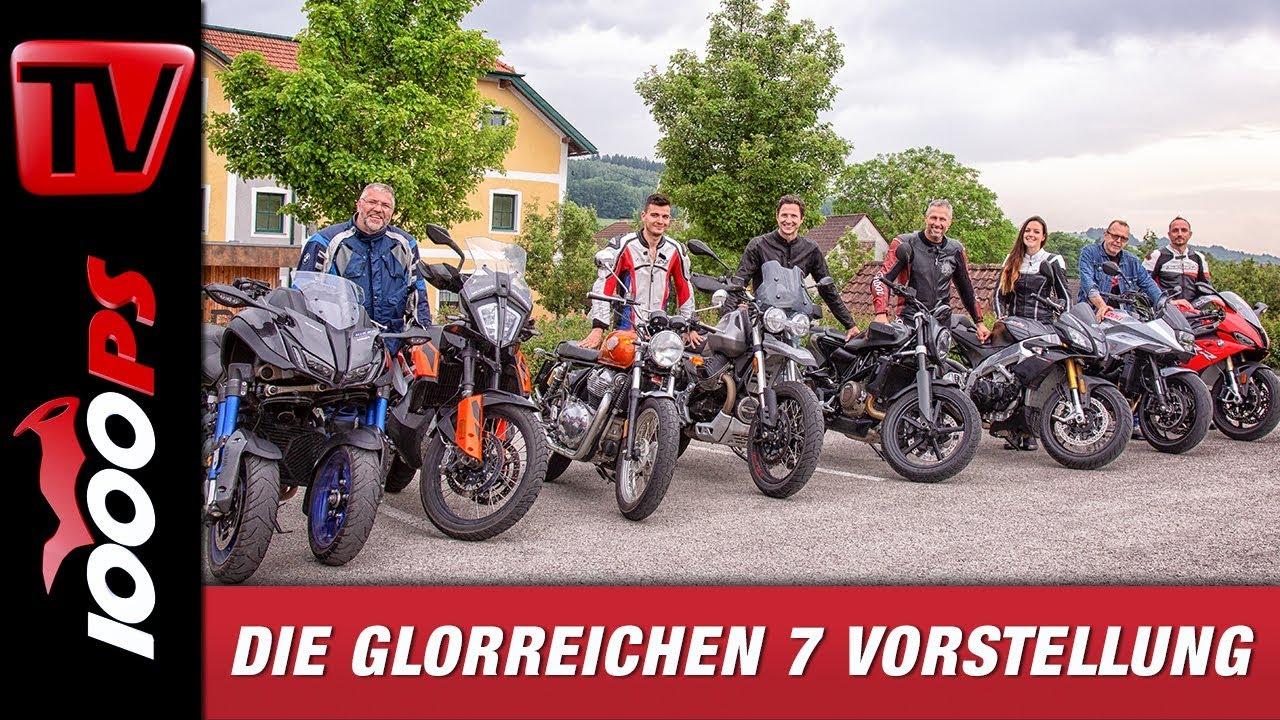 Miniserie Die Glorreichen 7 Motorrad Erfahrungen Für Euch Auf 1000ps Tv Teil 1 8 Youtube