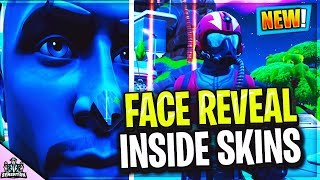 7 *SCARY* masked skins face reveals within Fortnite Battle Royale