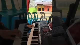 Sai Anju Ma Au - Live keyboard cam ( Kangen main keyboard di pesta )