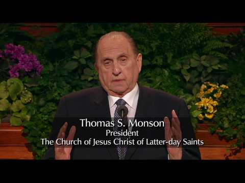 President Thomas S. Monson - Preparation Brings Blessings