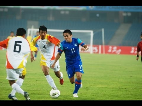 Bhutan Vs India (Full Match): SAFF Championship 2011