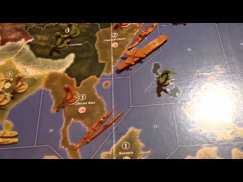 Axis and Allies - How to Play - Part 1 of 5 (1941 Edition)