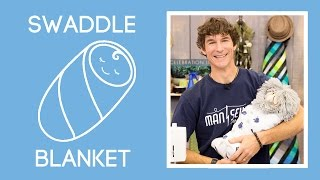 Easiest Swaddle Baby Blanket Ever