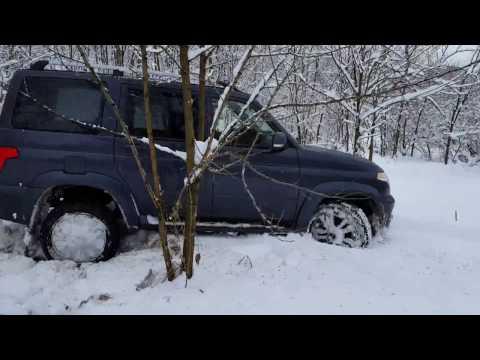 УАЗ Патриот 2016  Снежный плен