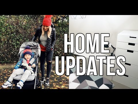 HOME UPDATE || PUTTING TOGETHER IKEA FURNITURE AND SHOPPING