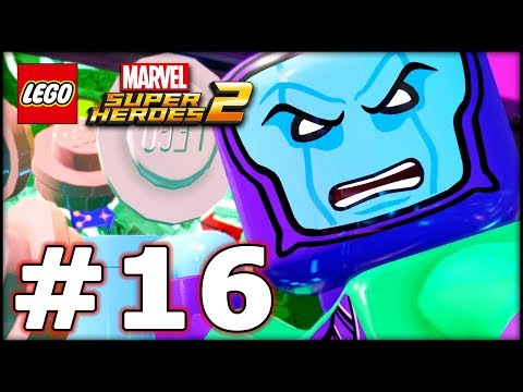 LEGO Marvel Superheroes 2 - Part 16 - Onion Head! (HD Gameplay Walkthrough)