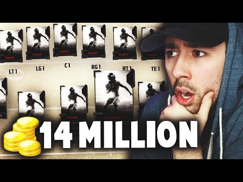 THE 14 MILLION COIN GOD SQUAD! Madden 18 Ultimate Team