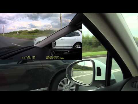 Сравнительный заезд VW Touareg 3.0 TDI 245 сток и 204 чип до 280