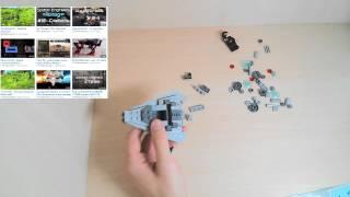 Обзор - LEGO Star Wars 75033 Star Destroyer (Звездный разрушитель)