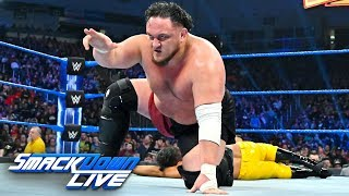 R-Truth & Rey Mysterio vs. Samoa Joe & Andrade: SmackDown LIVE, March 12, 2019