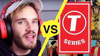 Not Your Average PewDiePie vs T-Series Video