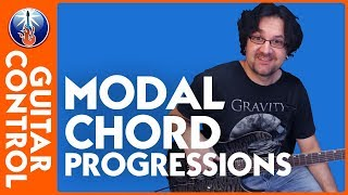 Learn to Play Minor Modal Chord Progressions - Rhythm Guitar Lesson on Modes Mp3