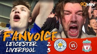 Salah, Coutinho and Henderson goals steal Liverpool Win | Leicester 2-3 Liverpool | 90min FanVoice