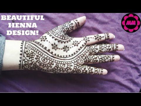 Indian Style Henna Easy Bridal Mehendi Design Simple Mehndi