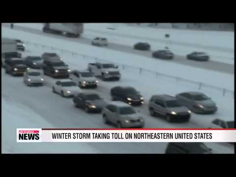 Winter storm taking toll on northeastern United States